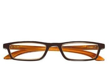 I NEED YOU Tiffy1.00 Stück3.00 DPTBraun-Orange Kunststoffbrille Dioptrien +03.00)