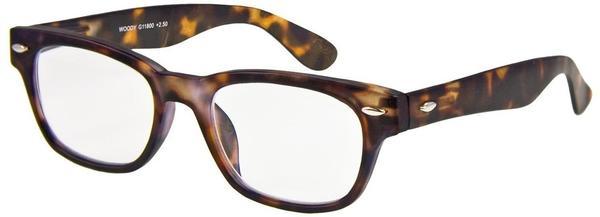 I NEED YOU WOODY1.00 Stück3.50 DPTHavanna Retro-Kunststoffbrille Dioptrien +03.50)
