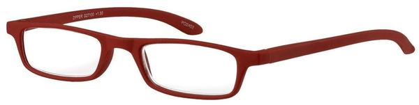 I NEED YOU Zipper Kunststoffbrille rot+02.00 DPT