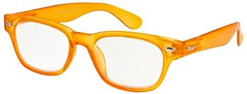 I NEED YOU WOODY limited Orange Retro-Kunststoffbrille Dioptrien +02.50)