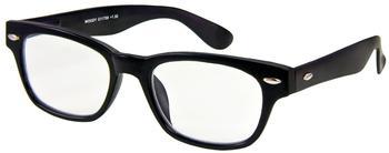 I Need You WOODY1.00 Stück2.00 DPTSchwarz Retro-Kunststoffbrille Dioptrien +02.00)