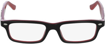 Ray-Ban Junior top black on red (RY1535 3573)