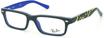 Ray-Ban Junior top dark grey on blue (RY1535 3600)