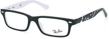 Ray-Ban Junior top black on white (RY1535 3579)