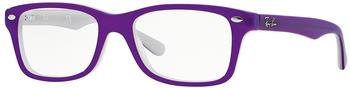 Ray-Ban RY1531 3591 (top violet on opal ice)