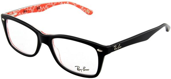 Ray-Ban RX5228 2479 (black-red texture)