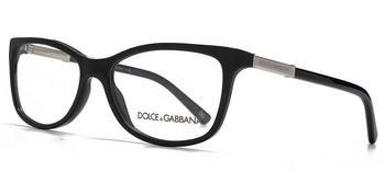 Dolce & Gabbana Logo Plaque DG3107 501 (black)