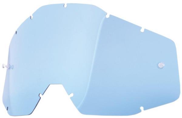 100% RACECRAFT/ACCURI/STRATA Replacement Lens Blue