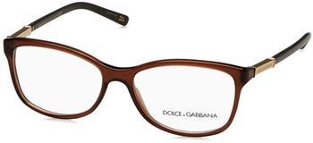 Dolce & Gabbana Logo Plaque DG3107 2542 (brown)