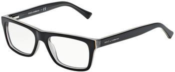 Dolce & Gabbana DG3205 1871 (top black on grey)
