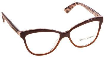 Dolce & Gabbana DG3229 2881 (top opal brown on leo)