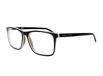 Hugo Boss 0764 QHI (black oh khaki shiny/black matt)