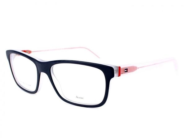Tommy Hilfiger TH1361 K56 (navy on transparent/frost/red)