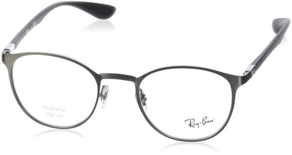 Ray-Ban RX6355 2620 (silver matt-gun)