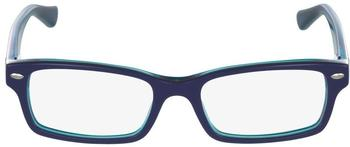Ray-Ban Junior (RY1530 3587) top blue on azure transparent
