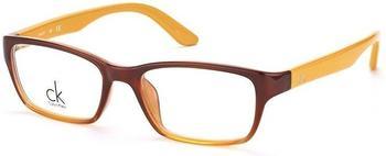 Calvin Klein CK5825 248 brown to amber transparent / beige