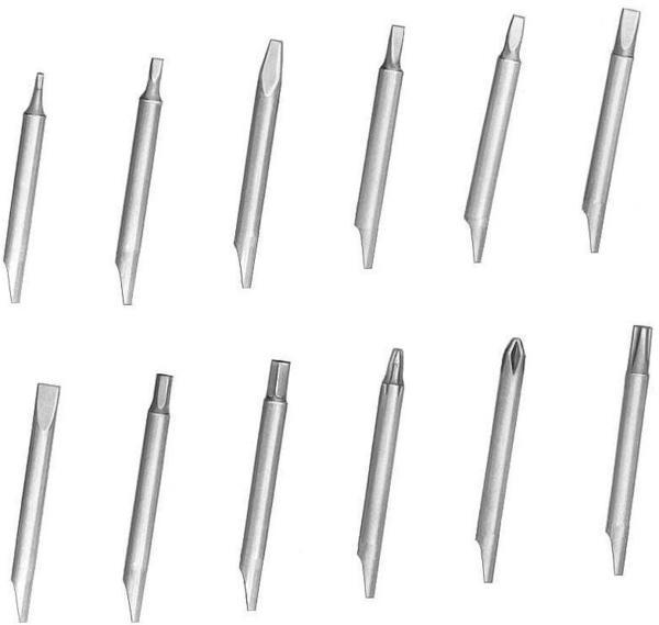 keine Angabe Keramik-Klinge (Bit), 2,50 x 0,70 mm 1-756