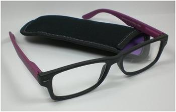 "Out of the Blue Lesebrille Lesehilfe unisex lila +1,0 Diop. Federbügel & Two Colours"""" "" Sehhilfe Kunstoff-Brille"