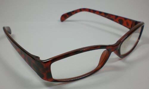 TOP TEN Lesebrille Lesehilfe +1,0 Diop. Kunststoff Sehhilfe unisex Design 3 Ersatzbrille