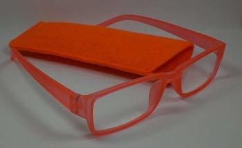 out-of-the-moderne-lesebrille-lesehilfe-3-0-diop-unisex-sehhilfe-neon-orange-filz-etui-sehhilfe
