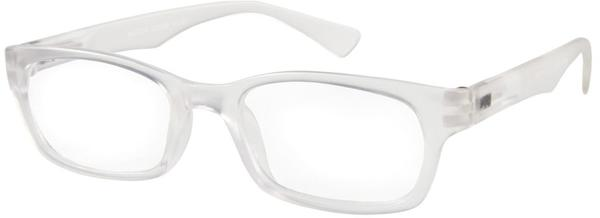 I NEED YOU - Master Retro-Kunststoffbrille kristall+01.50 DPT