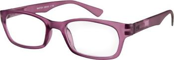 I Need You Master aubergine Retro-Kunststoffbrille (Dioptrien: +02.00)