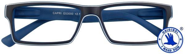 I NEED YOU Lesebrille Capri G53000 +1.00 DPT blau