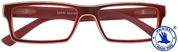 I NEED YOU Lesebrille Capri G53100 +2.50 DPT rot