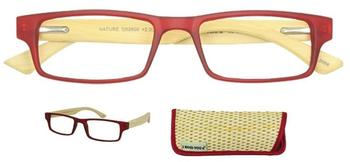 I Need You Lesebrille Nature G52800 +1.50 DPT rot inkl. Etui