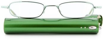 Lensspirit Lesebrille Professionell + 3.50 DPT grün inkl. Etui
