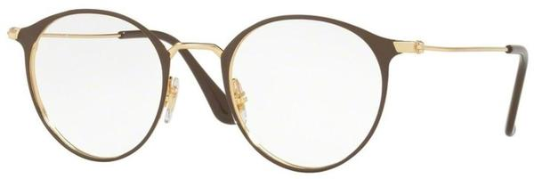 Ray-Ban RX6378 2905 (gold/shiny brown)