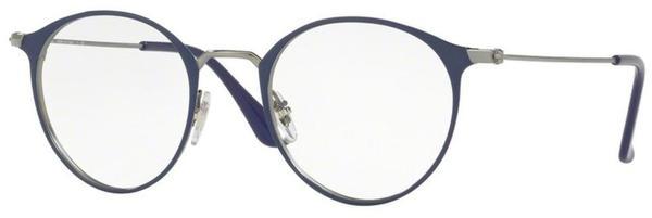 Ray-Ban RX6378 2906 (gunmetal/shiny blue)