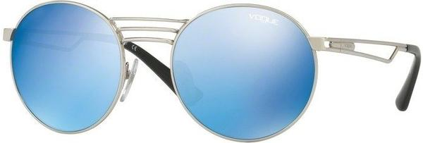 Vogue VO4044S 323/55 (brushed silver/blue mirror blue)