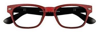 I Need You Lesebrille Woody Wood G55300 +2.50 DPT rot