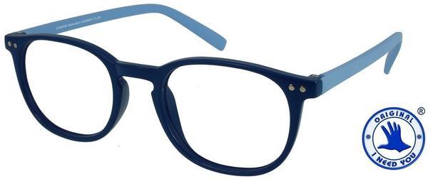 I NEED YOU Lesebrille Junior Selection G56000 +2.50 DPT blau blau inkl. Etui