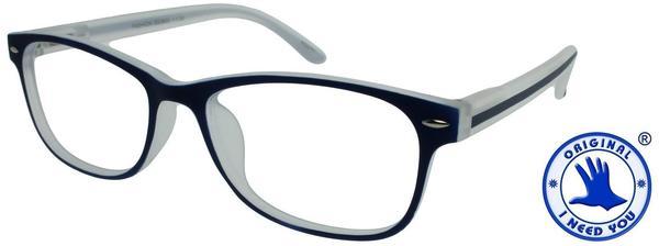 I NEED YOU Lesebrille Fashion G53800 +2.50 DPT blau inkl. Etui