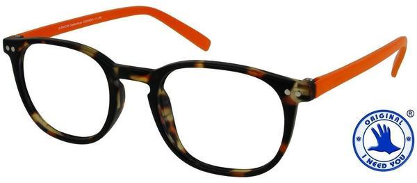 I NEED YOU Lesebrille Junior Selection G55900 +2.50 DPT havanna orange inkl. Etui