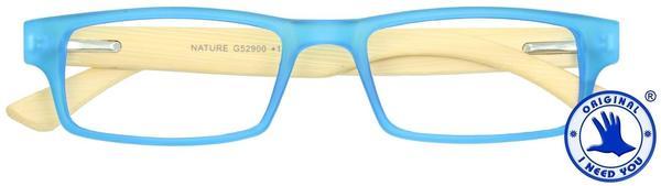 I NEED YOU Lesebrille Nature G52900 +3.00 DPT blau inkl. Etui