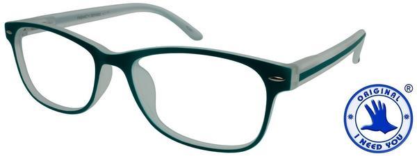 I NEED YOU Lesebrille Fashion G54000 +2.00 DPT grün inkl. Etui