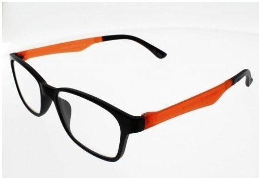 I NEED YOU Lesebrille Neon G53400 +3.00 DPT schwarz orange inkl. Etui