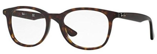 Ray Ban RX5356 2012 braun,havana Kunststoff Wayfarer Damen,Herren Brille in 54-19 (klein)