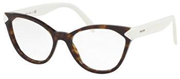 PRADA PR 02TV 2AU1O1 braun,havana Kunststoff Cat Eye Damen Brille in 54-17 (klein)