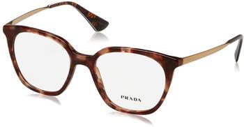 PRADA PR 11TV UE01O1 havana,pink Kunststoff Cat Eye Damen Brille in 53-17 (klein)