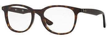 ray-ban-rx5356-2012-havana-kunststoff-wayfarer-damen-herren-brille-in-52-19-klein