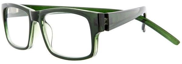 Lensspirit Lesebrille Straight +2.50 DPT grün