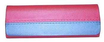 """nasenfahrrad24 ovales Etui """"MAYA"""" mit Magnetverschluss in versch. Farben pink"""