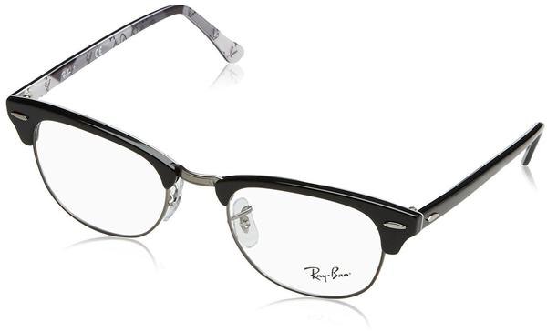 Ray-Ban Clubmaster RX5154 5649 (black/pewter on grey)