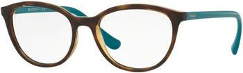 vogue-eyewear-vo5037-2393-havana-kunststoff-cat-eye-damen-brille-in-51-17-klein