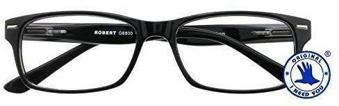 I NEED YOU Lesebrille Robert G6800 +1.00 DPT schwarz inkl. Etui