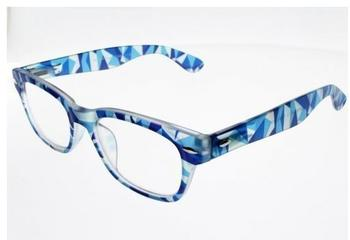 I Need You Woody Crazy blau Kunststoff-Lesebrille (Dioptrien: +01.50